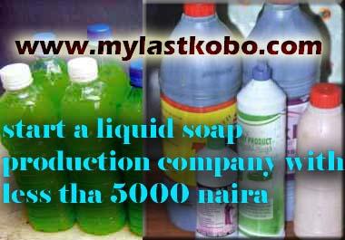 liquid soap making company