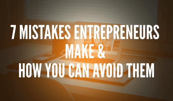start-up mistakes entrepreneurs make