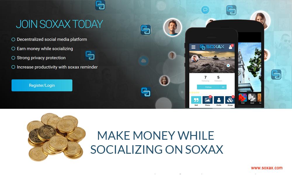 soxax decentralized social media
