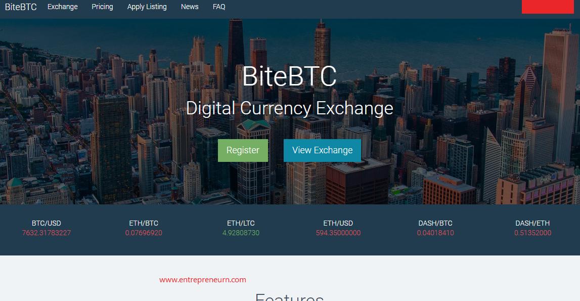 bitebtc exchange from soxax,
