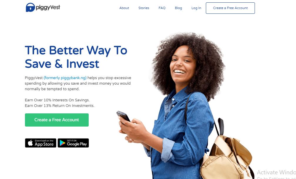 piggyvest piggybank website