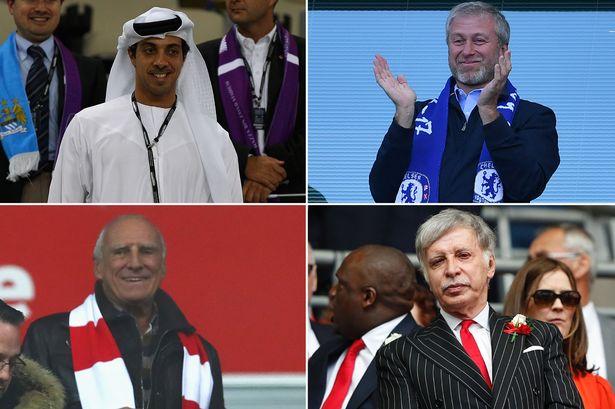 billionaire owners of the premier league clubs