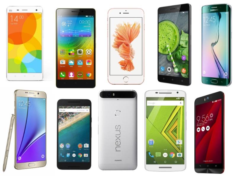 top ten smartphone makers in the world