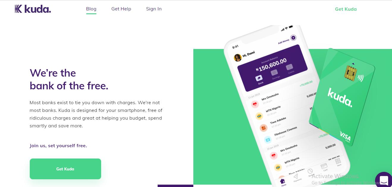 kudabank digital banking platform in nigeria