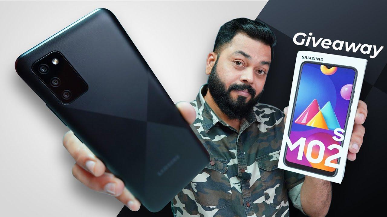 Samsung Galaxy M02s Smartphone